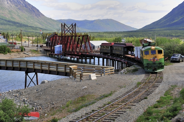 White Pass & Yukon Railway, Carcross, Yukon