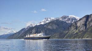 Ferry in Southeast Alaska