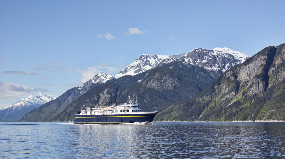 Ferry in Southeast Alaska
