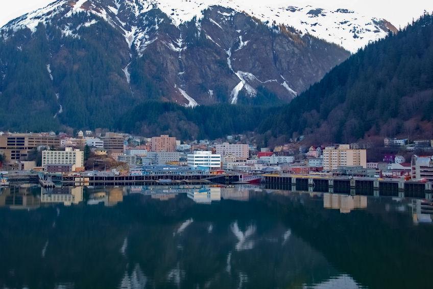 Juneau Harbor Alaska