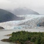 Mendenhall Glacier and Valley, Alaska.