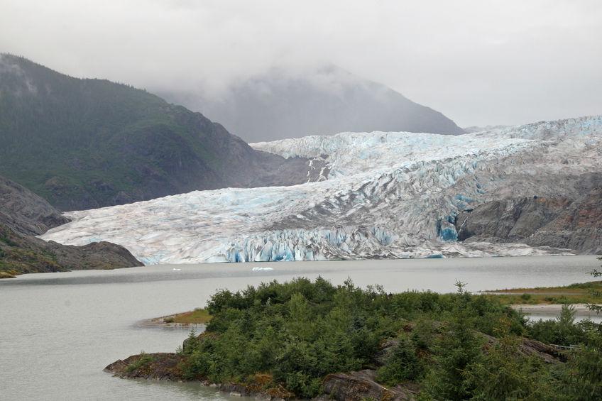 Mendenhall Glacier and Valley, Alaska.